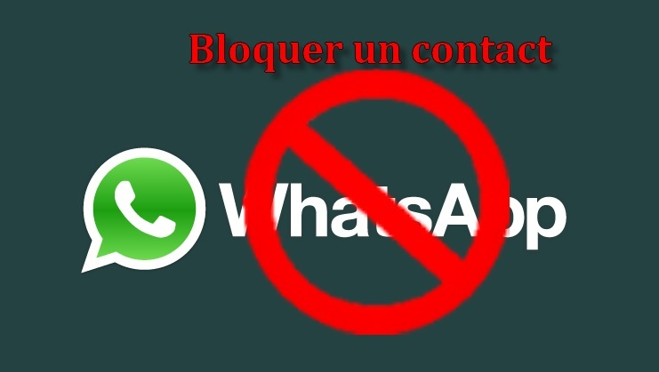 whatsappbloquer un contact