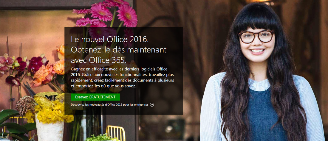 Version d'essai Office 365 Office 2016