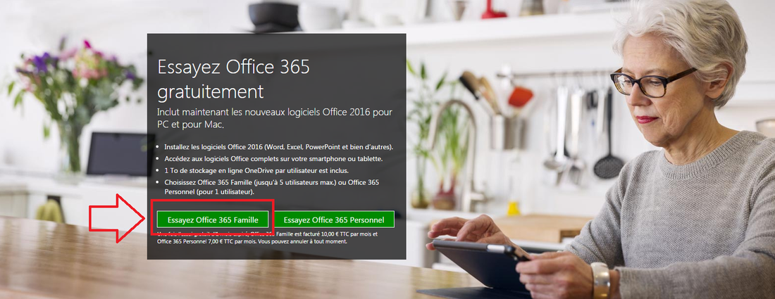 Office 365 version d'essai