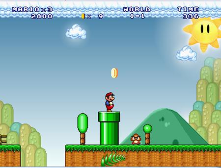 Super Mario Mario Forever 18.77ميغا 2016 marioForever.jpg