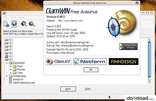 clamwin gratuit