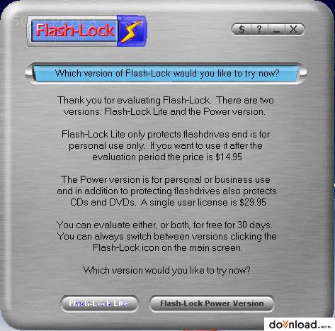 flash lock lite 1 0 download t l charge cryptage des donn es. Black Bedroom Furniture Sets. Home Design Ideas