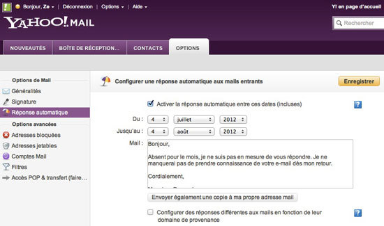 Yahoo.fr news